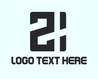 Casino - Game 21 logo design