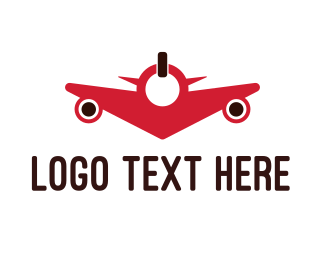 Power - Power Plane logo design