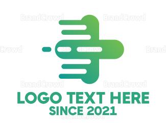 Hospital - Fast Cross logo design