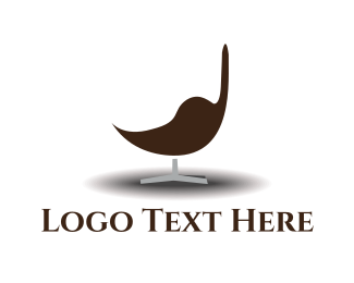 Stool - Modern Chair logo design
