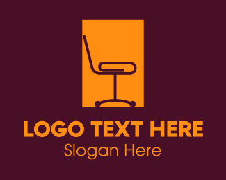 Employment - Office Clip Chair logo design
