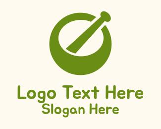 Pharmacology - Green Mortar logo design