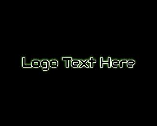 Coder - Futuristic & Black  logo design