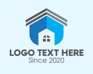 Home Lease - Home Real Estate Property logo design