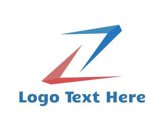 Letter Z - Abstract Letter Z logo design
