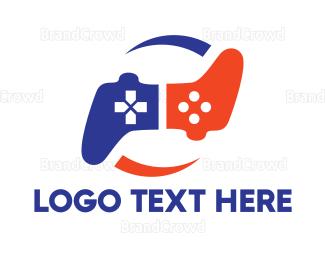Agile - Boomerang Controller logo design