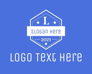 Vintage - Vintage Badge Letter logo design
