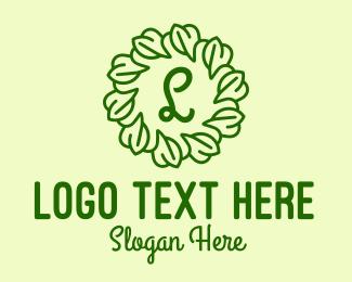 Vines - Leaf Vines Lettermark  logo design