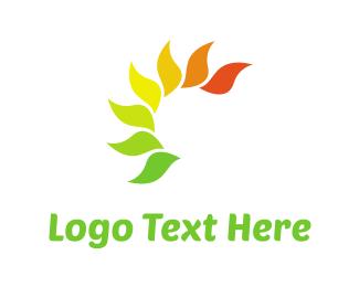 Autumn - Autumn Leaves logo design
