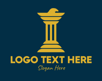 Legal Service - Eagle Business Pillar  logo design