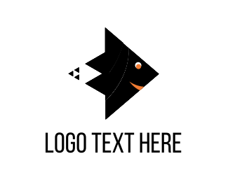 Kite - Fish Kite logo design