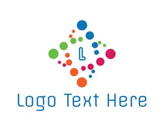 Acid - Bio Tech Lettermark logo design