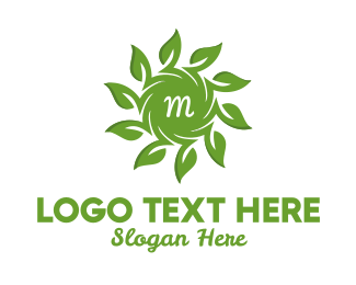 Agritourism - Organic Solar Energy Lettermark logo design