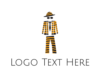 Fashion Store - Bee Suit  logo design