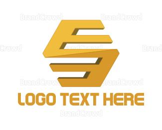 Beehive - Golden Hive logo design
