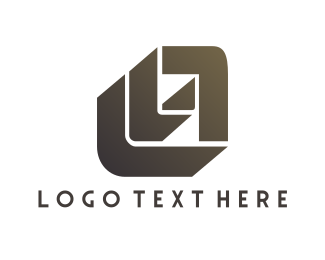 Fist - Modern L & A logo design