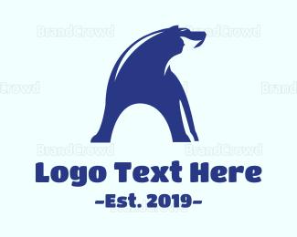 Alaska - Ice Bear logo design