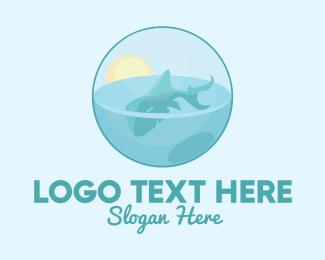 Whale - Whale Shark Ball  logo design