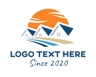Broker - Residential Home Developer logo design