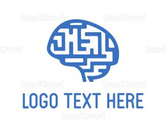 Smart - Maze Mind logo design