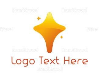 Fortune - Gold Star logo design