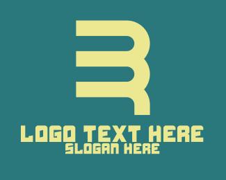 Monogram - B & R Monogram logo design