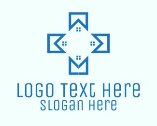 Medical Facility - Blue Medical Facility logo design