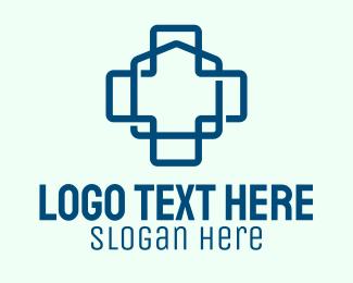 Health Care - Health Care Home logo design
