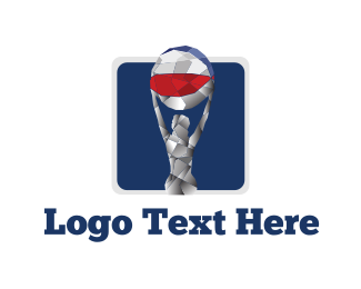 Bondi - Beach Ball logo design
