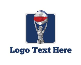 Metallic - Beach Ball logo design