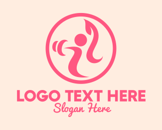 Fit - Women's Gym Trainer logo design