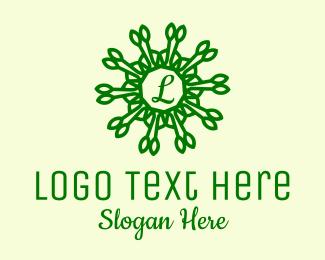 Spa - Nature Spa Lettermark  logo design