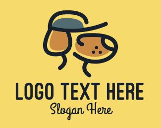 Furries - Simple Dog Hat logo design