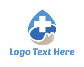 Help - Medical Drop logo design