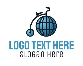 Global - Global High Wheel logo design