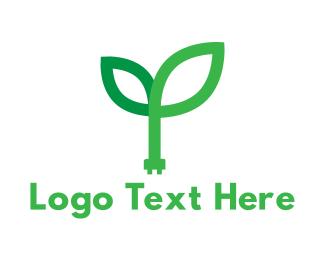 Power - Green Power logo design