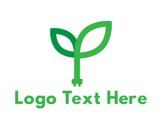 Sustainable Energy - Green Power logo design
