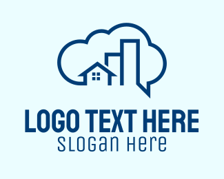 Real Estate - Cloud Real Estate logo design