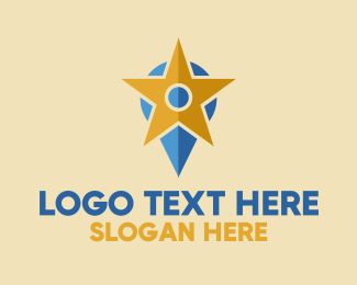 Vc - Premium Location logo design