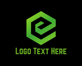 Eco E Logo Maker