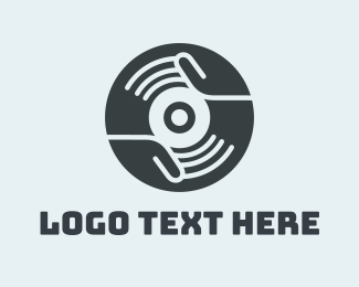 Community - Vinyl Disc logo design