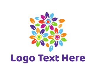 Bouquet - Colorful Bouquet logo design