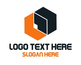 Box - Abstract Hexagon logo design