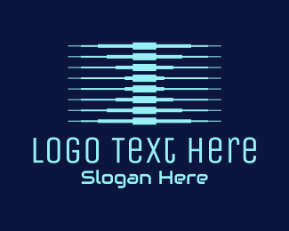 Connection - Letter X Tech Connection logo design