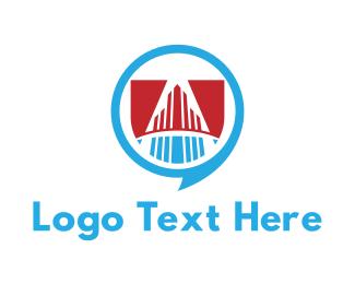 Real Estate - Building Talk logo design