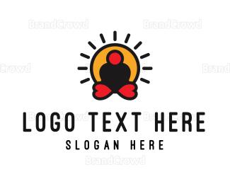 Body - Love Yoga logo design