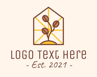 Homemade Coffee - Coffee Farm House logo design