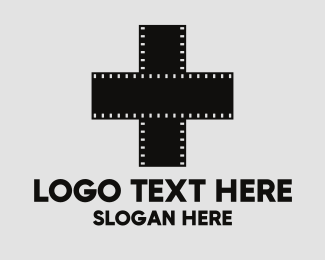 Photo Booth - Photo Film Negatives logo design