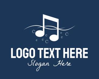 Music - Music Sea logo design
