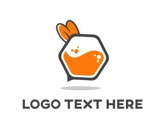Beehive - Bee Honeycomb logo design